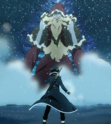 Kirito (キリト) or Kirigaya Kazuto (桐ヶ谷 和人) finally meets the boss, Nicholas The Renegade (背教者ニコラス). (Sword Art Online ep 3)
