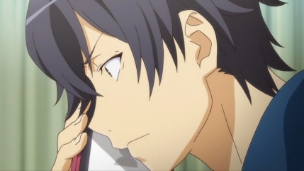 Hikigaya Hachiman (比企谷 八幡) Yukinoshita Haruno (雪ノ下 陽乃) Hayama Hayato (葉山 隼人) (Yahari Ore no Seishun Love Comedy wa Machigatteiru. Anime ep4)