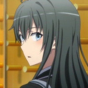 Yukinoshita Yukino (雪ノ下 雪乃) Yukinoshita Haruno (雪ノ下 陽乃) (Yahari Ore no Seishun Love Comedy wa Machigatteiru. Zoku Anime ep4)
