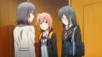 Yukinoshita Yukino (雪ノ下 雪乃) Yukinoshita Haruno (雪ノ下 陽乃) (Yahari Ore no Seishun Love Comedy wa Machigatteiru. Zoku Anime ep4)