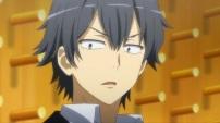 Hikigaya Hachiman (比企谷 八幡) Hayama Hayato (葉山 隼人) (Yahari Ore no Seishun Love Comedy wa Machigatteiru. Zoku Anime ep4)