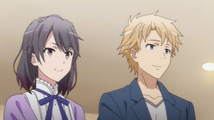Yukinoshita Haruno (雪ノ下 陽乃) says loudly that Hayama Hayato (葉山 隼人) is not. (Yahari Ore no Seishun Love Comedy wa Machigatteiru. Yahari Ore no Seishun Love Come wa Machigatteiru. Yahari Ore no Seishun Rabukome wa Machigatte Iru. Oregairu Yahari Ore no Seishun Love Comedy wa Machigatteiru. Zoku Yahari Ore no Seishun Love Come wa Machigatteiru. Zoku Oregairu Zoku やはり俺の青春ラブコメはまちがっている。 やはり俺の青春ラブコメはまちがっている。続 俺ガイル 果然我的青春戀愛喜劇搞錯了。 果然我的青春戀愛喜劇搞錯了。續 anime Ep 10)