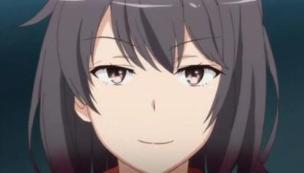 Yukinoshita Haruno (雪ノ下 陽乃) dislikes when Yukinoshita Yukino (雪ノ下 雪乃) asks her about Hayama Hayato (葉山 隼人). (Yahari Ore no Seishun Love Comedy wa Machigatteiru. Yahari Ore no Seishun Love Come wa Machigatteiru. Yahari Ore no Seishun Rabukome wa Machigatte Iru. Oregairu Yahari Ore no Seishun Love Comedy wa Machigatteiru. Zoku Yahari Ore no Seishun Love Come wa Machigatteiru. Zoku Oregairu Zoku やはり俺の青春ラブコメはまちがっている。 やはり俺の青春ラブコメはまちがっている。続 俺ガイル 果然我的青春戀愛喜劇搞錯了。 果然我的青春戀愛喜劇搞錯了。續 anime ep 11)