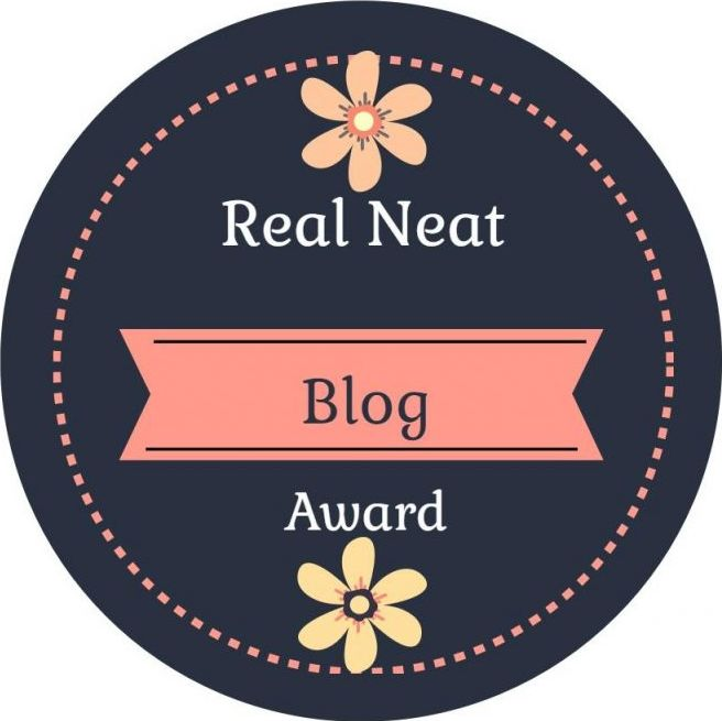 The First Real Neat Blog Award in 2020 of Yahari Bento!