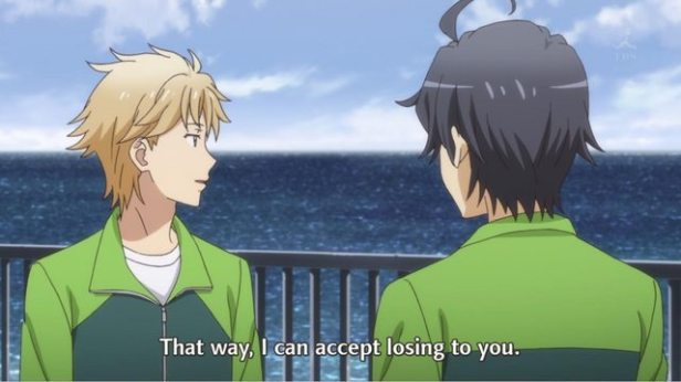"""So Hayama Hayato (葉山 隼人) right now can't accept """"her rejection"""" in ep4. (Yahari Ore no Seishun Love Comedy wa Machigatteiru. Yahari Ore no Seishun Love Come wa Machigatteiru. Yahari Ore no Seishun Rabukome wa Machigatte Iru. Oregairu My Youth Romantic Comedy Is Wrong, as I Expected. My Teen Romantic Comedy SNAFU Yahari Ore no Seishun Love Comedy wa Machigatteiru. Zoku Yahari Ore no Seishun Love Come wa Machigatteiru. Zoku Oregairu Zoku My Teen Romantic Comedy SNAFU TOO! やはり俺の青春ラブコメはまちがっている。 やはり俺の青春ラブコメはまちがっている。続 俺ガイル 果然我的青春戀愛喜劇搞錯了。 果然我的青春戀愛喜劇搞錯了。續 anime ep 11)"""