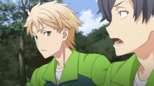 Hayama Hayato (葉山 隼人) is surprised how Hikigaya Hachiman (比企谷 八幡) can follow his speed. (Yahari Ore no Seishun Love Comedy wa Machigatteiru. Yahari Ore no Seishun Love Come wa Machigatteiru. Yahari Ore no Seishun Rabukome wa Machigatte Iru. Oregairu My Youth Romantic Comedy Is Wrong, as I Expected. My Teen Romantic Comedy SNAFU Yahari Ore no Seishun Love Comedy wa Machigatteiru. Zoku Yahari Ore no Seishun Love Come wa Machigatteiru. Zoku Oregairu Zoku My Teen Romantic Comedy SNAFU TOO! やはり俺の青春ラブコメはまちがっている。 やはり俺の青春ラブコメはまちがっている。続 俺ガイル 果然我的青春戀愛喜劇搞錯了。 果然我的青春戀愛喜劇搞錯了。續 anime ep 11)